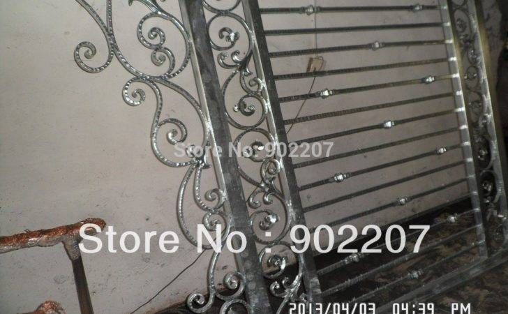 Newest Design Wrought Iron Gate High Quality Gates