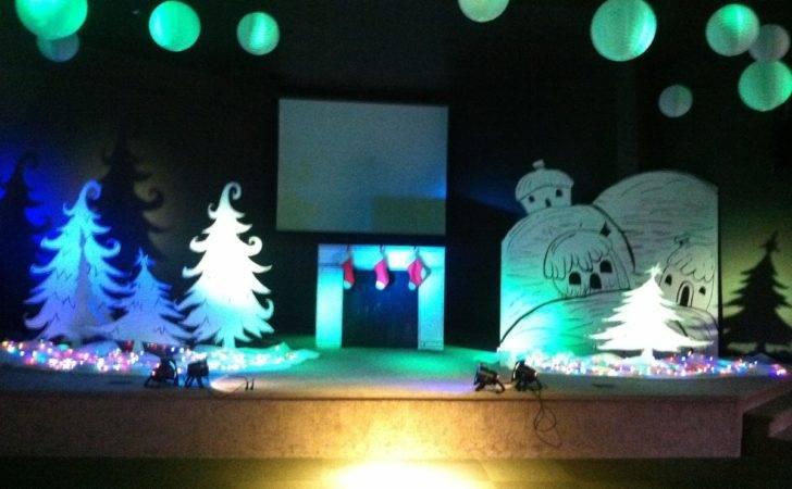 Newkidz Christmas Stage Design Tree Program