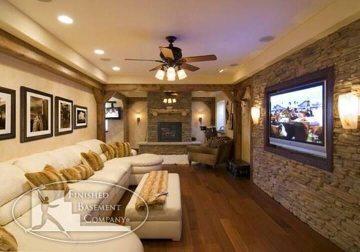 Nice Basement Dream House Pinterest