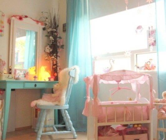 Nice Gentle Bedroom Six Year Old Girl Kidsomania