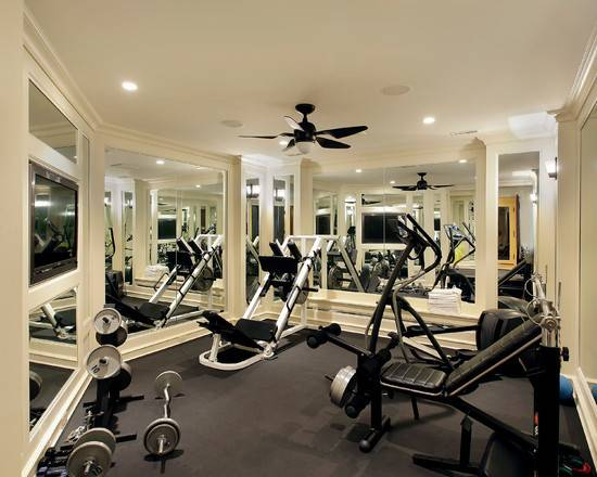 Nice Home Gym Beautiful Homes Design