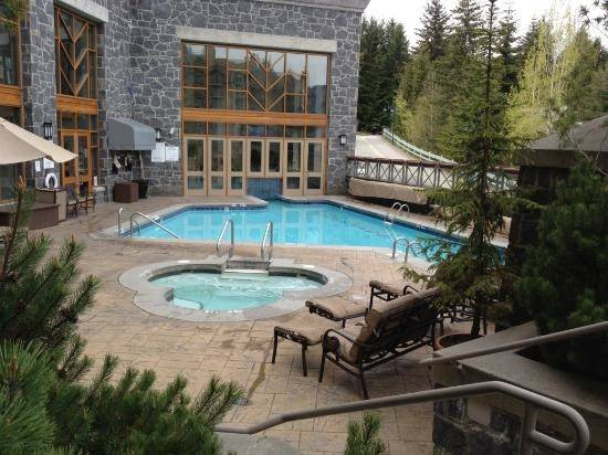 Nice Indoor Outdoor Pool Jacuzzi Mountain