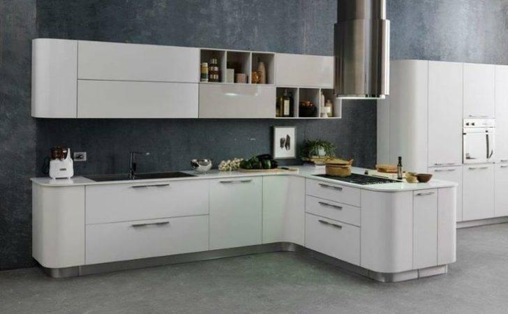 Nice Modern Kitchen Round Corners Kitchens Pinterest