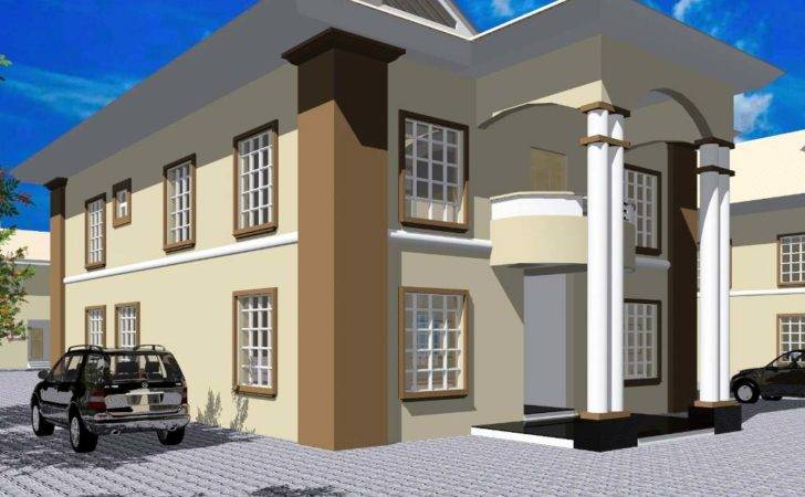 Nigeria Addition Residential House Plans Bedrooms Likewise Ghana