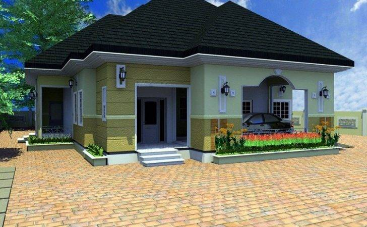 Nigeria Bedroom Duplex Design Bungalow