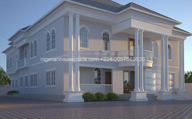 Nigeria House Plan Home Building Design Bedroom Apartment