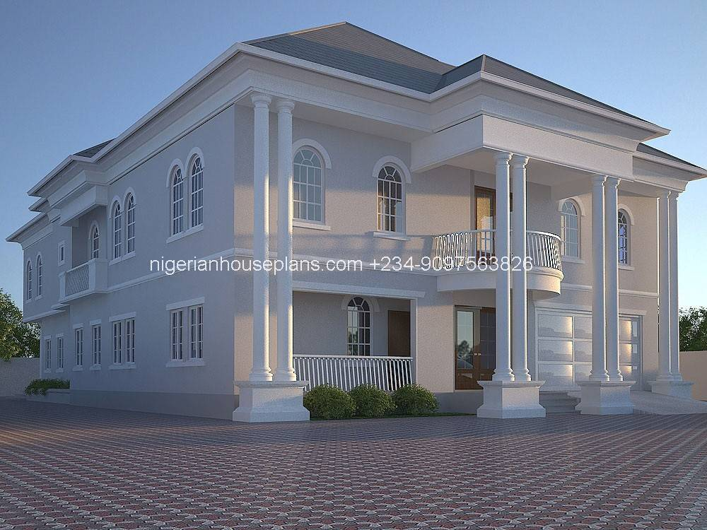 Nigeria House Plan Home Building Design Bedroom Apartment