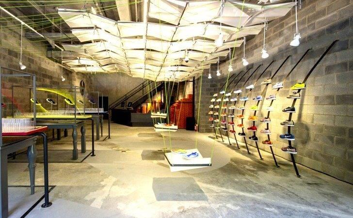 Nike Concept Store Made Trash Shaw Contract Group Design