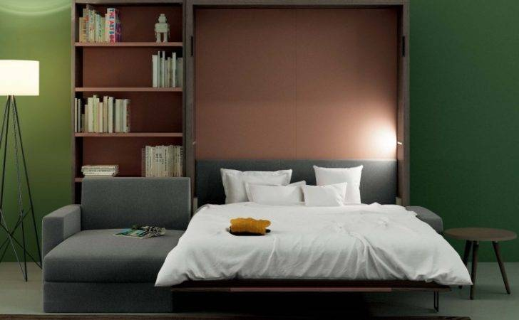 Nobu Double Murphy Bed Sofa Clever