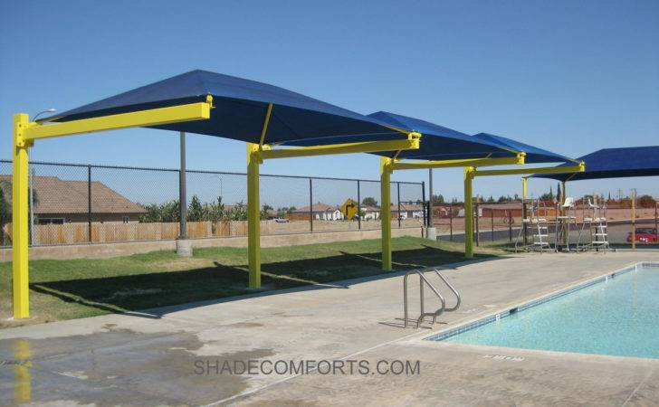 Norcal Cantilevered Pool Shade Canopy