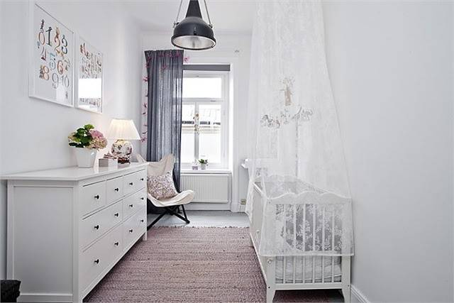 Nordic Decor Ikea Inspired Nursery Pinterest