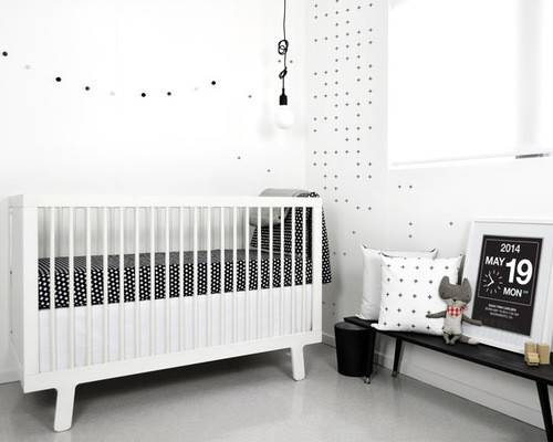 Nordic Nursery Modern Sacramento Trend Home Design Decor