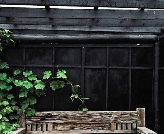 Nordic Summer House Black Green Garden Interior Design