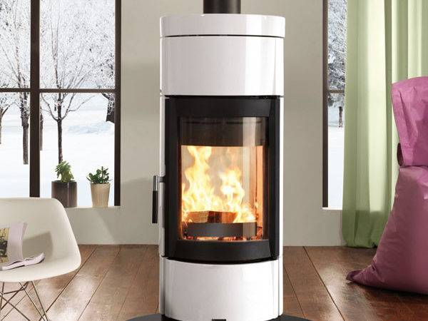 Nordica Fortuna Bifacciale Contemporary Wood Burner
