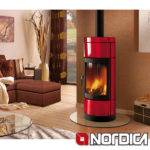 Nordica Fortuna Contemporary Wood Burning Stove
