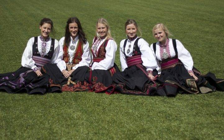 Norwegian Heritage Bunads Norway National Costumes Pinterest