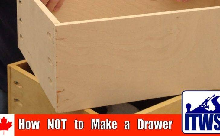 Not Make Drawer Youtube