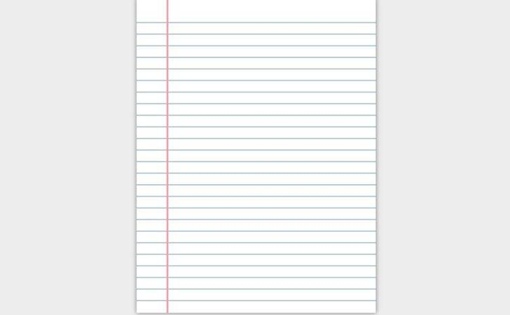 Notebook Paper Vector Art Graphics