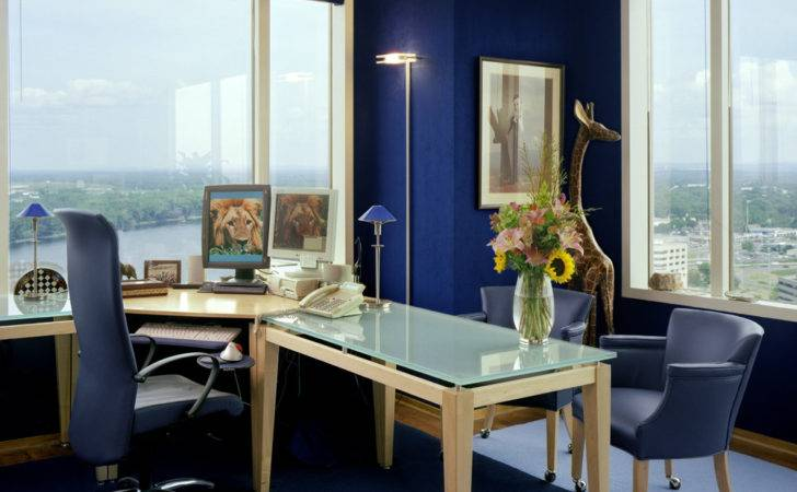 Noted Inspirational Decoration Interior Office Blue
