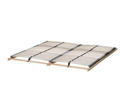 Nset Slatted Bed Base Ikea Slats Layer Glued Birch Adjust