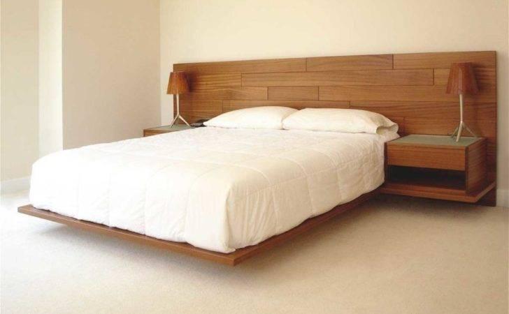 Nuance Floating Platform Beds White Sheets Bed Scheme Bedroom