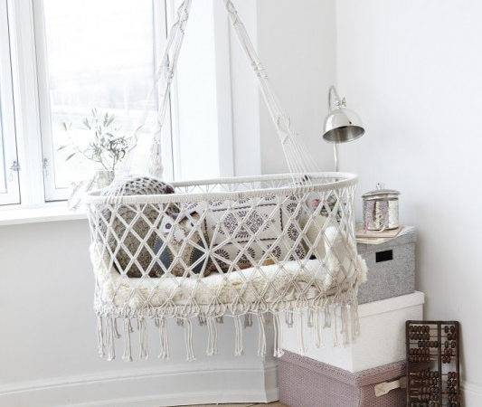 Nursery Nordic Bliss Shop Scandinavian Home Accessories Hanging Basket