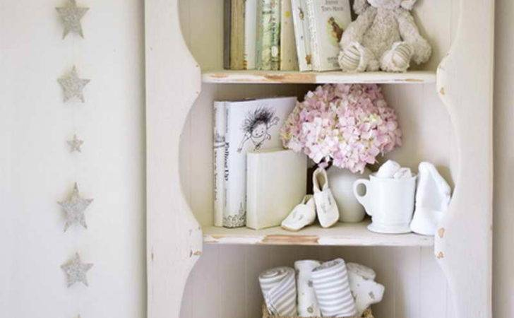 Nursery Shelving Ideas Antique Vintage Girl