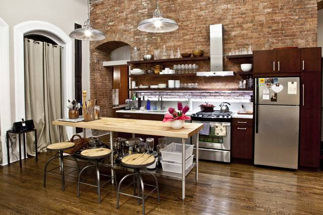 Nyc Loft Contemporary Kitchen New York Design