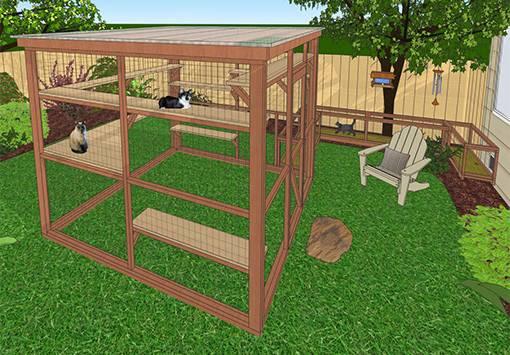 Oasis Catio Diy Plan Cat Enclosure Catiospaces