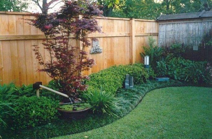 Oasis Tranquility Backyard Fence Line Landscaping Pinterest