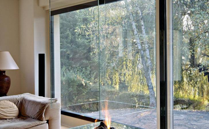 Obviously Need Your New Home Glass Encased Fireplace Viralscape
