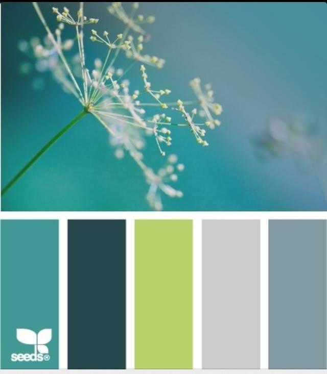 Ocean Colors Home Pinterest
