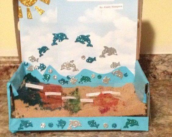 Ocean Floor Project Made Out Brown Sugar Science Pinterest