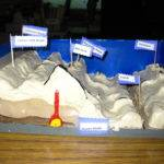 Ocean Floor Students Created Models Layers
