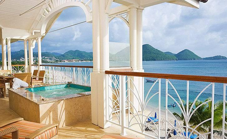 Ocean Villa Suites Landings Resort Lucia