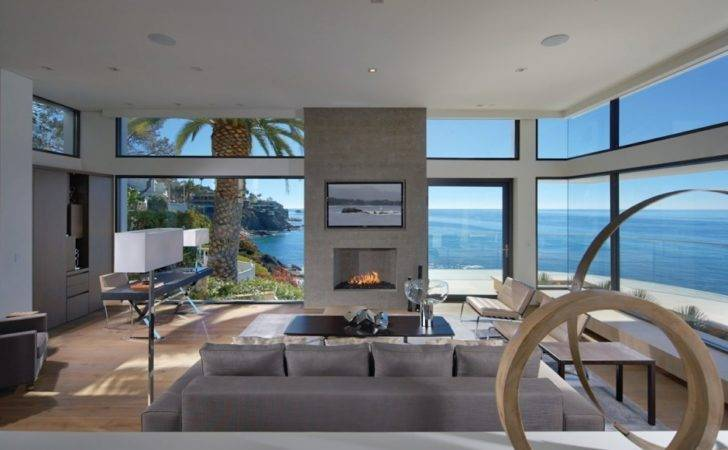 Oceanfront House Pool California