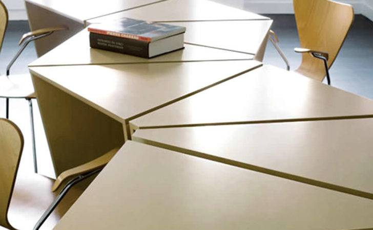 Octave Modular Table Lacquer Finish Imake Studio Brooklyn