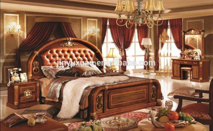Offer High Class European White Colour Bedroom Set
