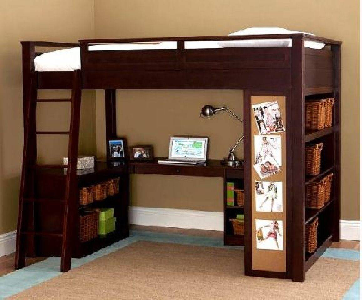 Office Bunk Bed Kids Rooms Home Sweet Pinterest
