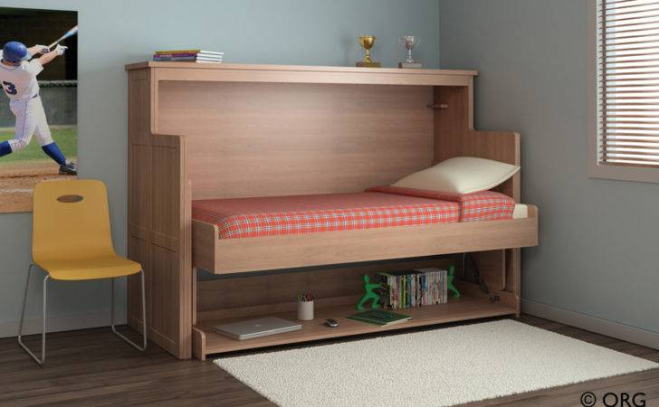 Office Guest Space White Wallbed
