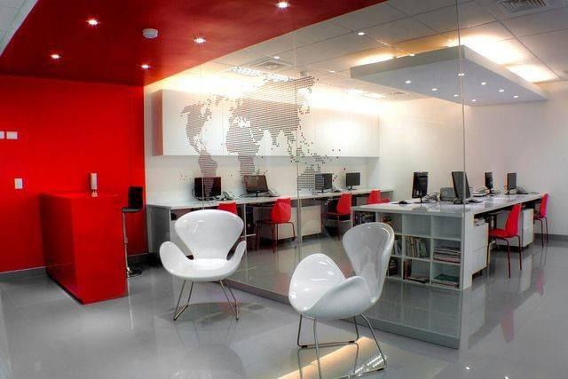 Office Interior Design Designs Ideas Red