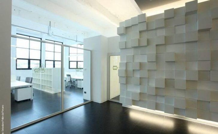 Office Interior Design Modern Glass Door Planning