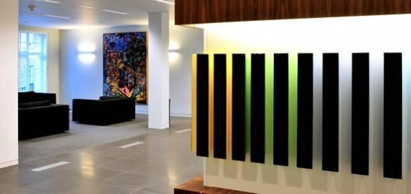 Office Interior Design Stenham Illuminated Wall