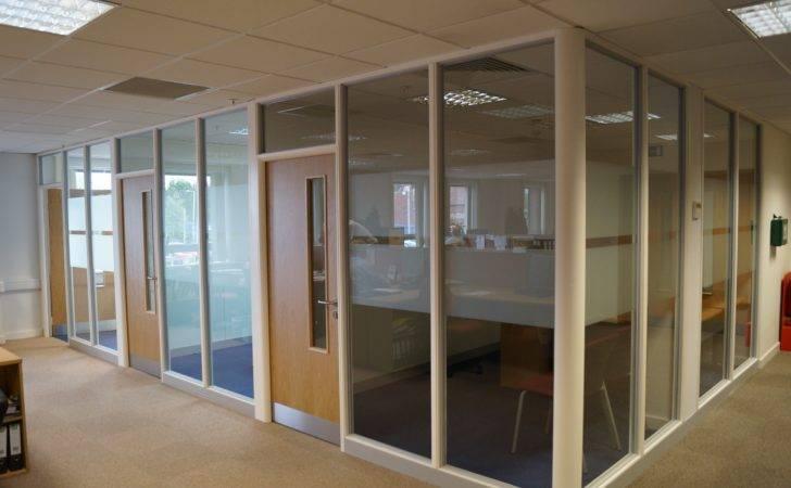 Office Interior Glass Design Modern Hallway