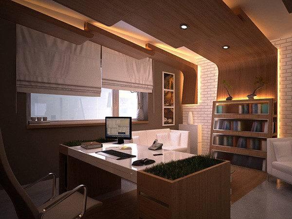 Office Interior Wall Design Winsome Sofa Decor
