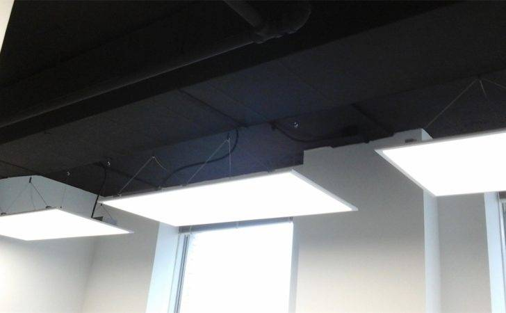 Office Lighting Proper Luminance Light Distribution Can
