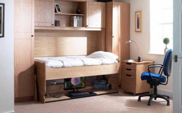 Office Murphy Bed Desk Combination