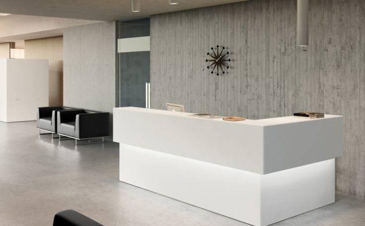 Office Reception Design Counter