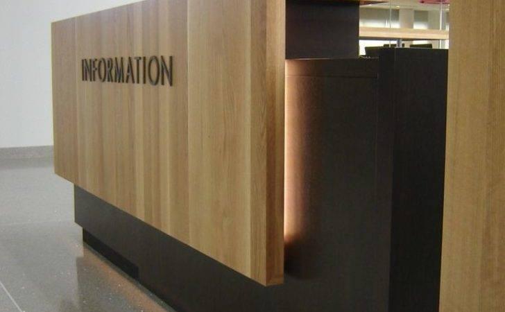 Office Reception Desks Counter Design