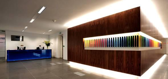 Office Reception Wall Interior Design Delectable Room